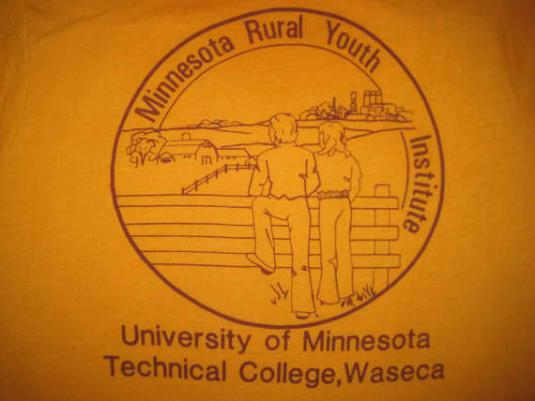 Late 70's early 80's U of M vintage t-shirt, S M
