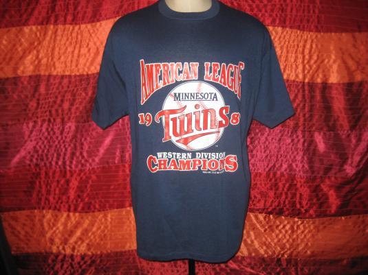 Vintage 1987 Minnesota Twins t-shirt, XL XXL