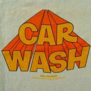 Vintage 1976 Car Wash Pryor Carlin movie soundtrack t-shirt