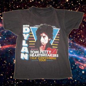 Original vintage 1986 Bob Dylan Grateful Dead t-shirt, L
