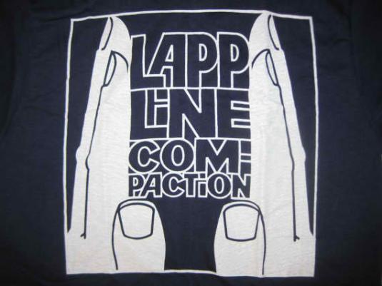 Vintage 1970's LAPP employee t-shirt, S M