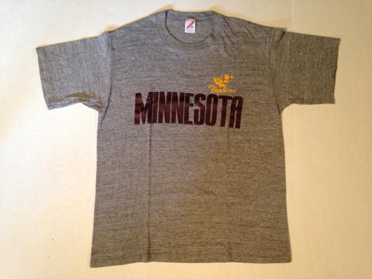 Vintage 1980's rayon blend University of Minnesota t-shirt