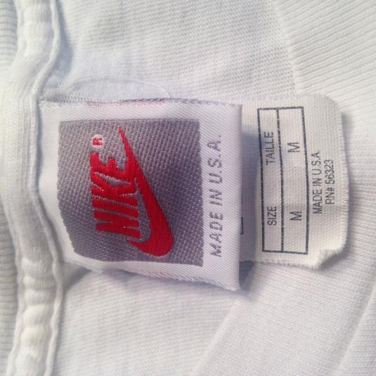 vintage 1990's Nike gray tag soccer football t-shirt