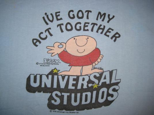 Vintage 1970s Ziggy Universal Studios t-shirt, M L
