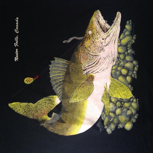 Vintage Nestor Falls, Canada fishing t-shirt
