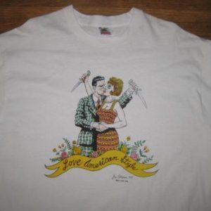 Crazy rare vintage Joe Coleman outsider art t-shirt