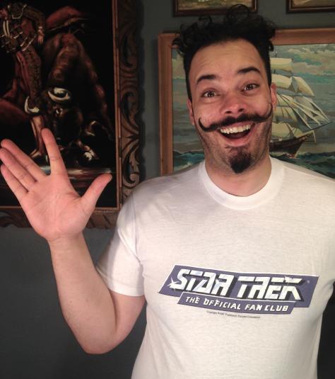 Vintage 1980's Star Trek Fan Club t-shirt