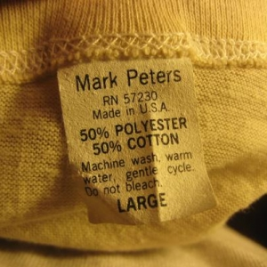 Vintage 1970's Beer Power t-shirt, soft and thin, M-L