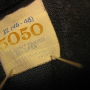 1989 vintage Motley Crue t-shirt, XL