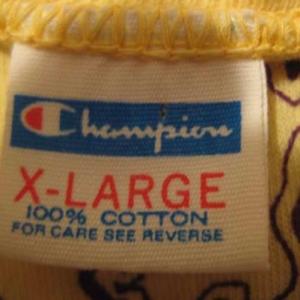 1970's Champion Blue Bar vintage t-shirt, L