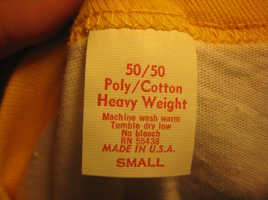Vintage 1981 XTC raglan t-shirt, deadstock, small
