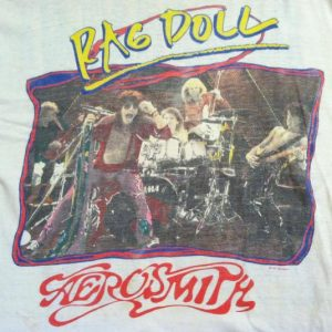 Vintage 1988 Aerosmith Rag Doll t-shirt