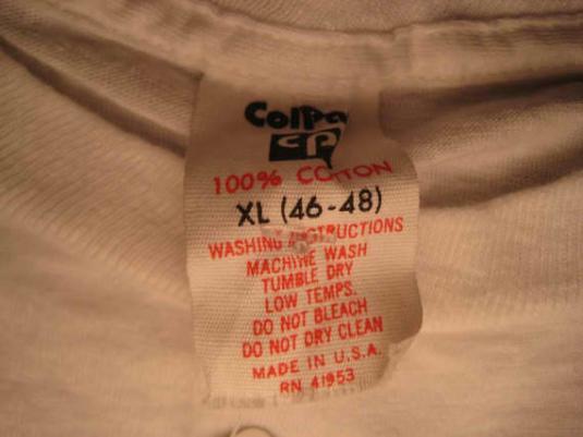 1970's Bare Ass funny t-shirt, L XL