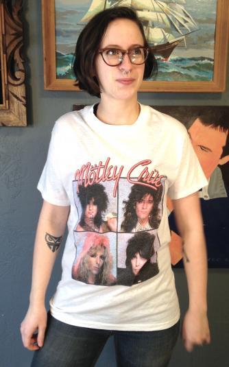 Vintage 1987 Motley Crue Girls Girls Girls t-shirt