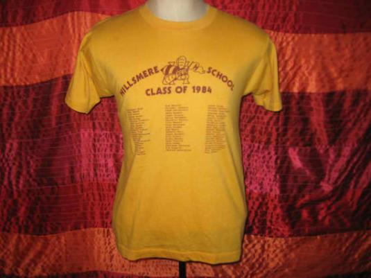 Vintage Maryland class of 1984 t-shirt, Screen Stars, M L