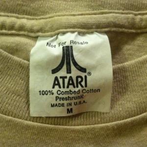 Vintage 1980's Atari classic retro video game t-shirt