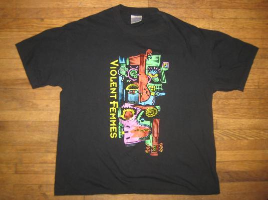 Vintage 1992 Violent Femmes concert t-shirt, XL