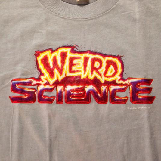 Vintage Original Weird Science John Hughes movie t-shirt