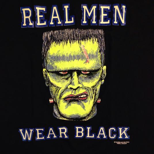 Vintage 1992 glow in the dark Frankenstein t-shirt