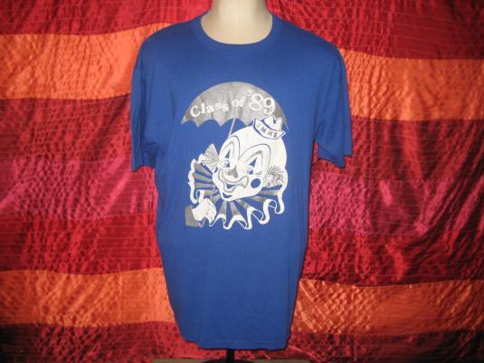 Vintage Class of 1989 clown t-shirt, XL XXL