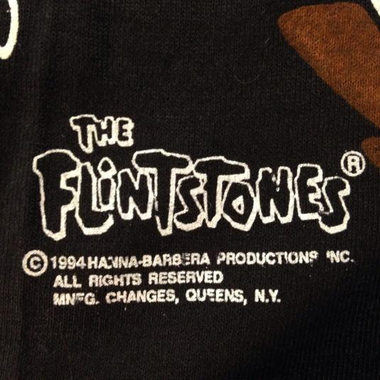 Vintage deadstock NWT 1994 The Flintstones t-shirt