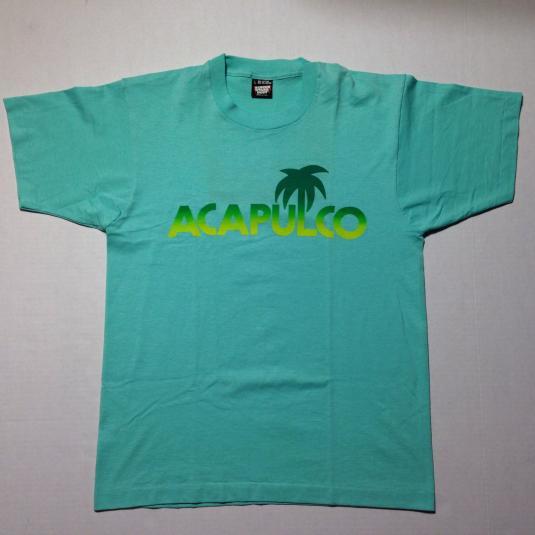 Vintage 1980's ACAPULCO vacation t-shirt