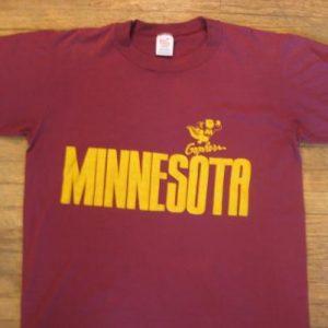 1980's University of Minnesota t-shirt, soft and thin, M