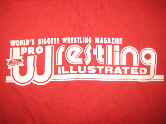 Vintage 1980s Wrestling Magazine t-shirt