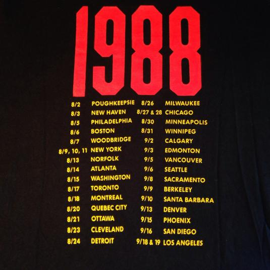 Vintage 1988 Bryan Ferry t-shirt