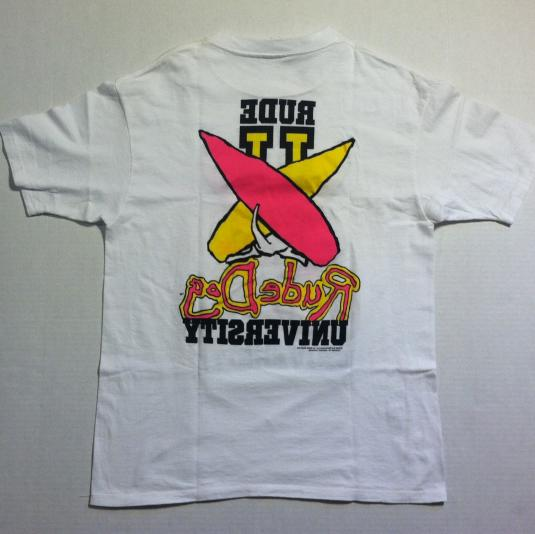Vintage 1980's RUDE DOG t-shirt