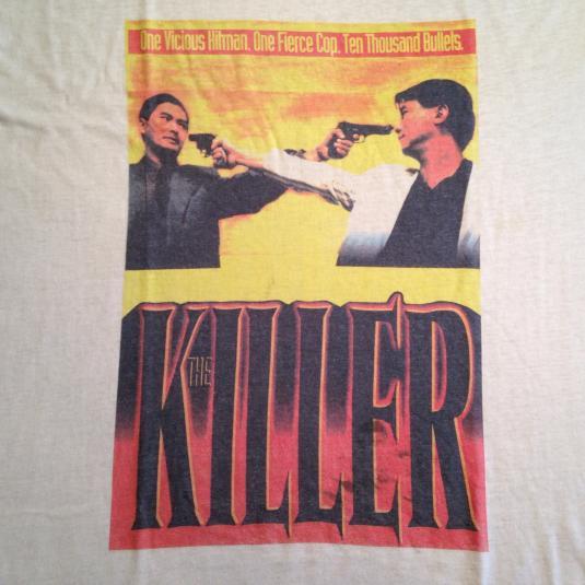 Vintage 1989 John Woo's The Killer movie t-shirt