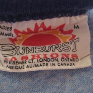 1970's-1980's Niagara Falls ladies ringer t-shirt, medium