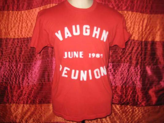 Vintage 1987 reunion t-shirt, Screen Stars, M L