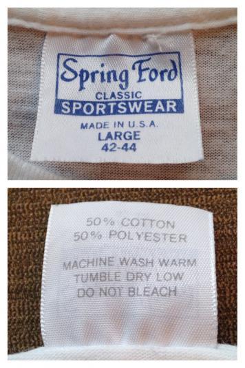 Vintage 1980's Bon Jovi Slippery When Wet t-shirt