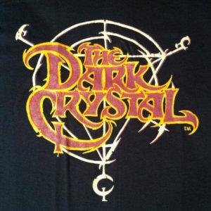 Vintage Small 1980's The Dark Crystal fantasy movie t-shirt