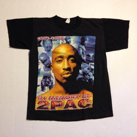 Vintage 1990's Tupac Shakur t-shirt