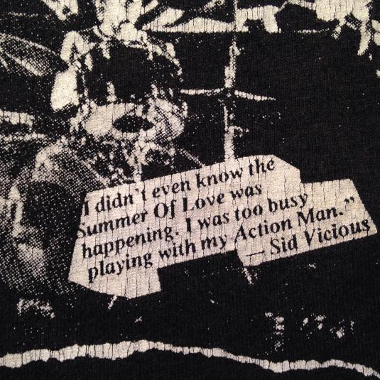 Vintage 1980's Sex Pistols t-shirt