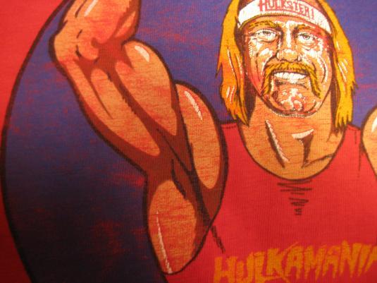 Vintage 1980's Hulk Hogan t-shirt, XL