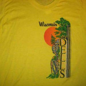 1970's Wisconsin Dells vintage t-shirt, L XL