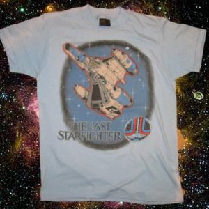 Original vintage 1984 The Last Starfighter movie t-shirt, M