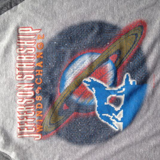 Vintage 1982 Jefferson Starship Winds of Change t-shirt