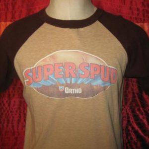 """Vintage 1980's """"Super Spud"""" potato t-shirt, L XL"""