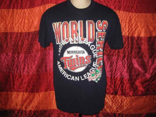 Vintage 1991 Minnesota Twins t-shirt, L XL