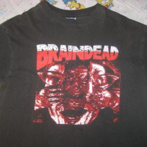 Vintage 1990's Brain Dead (Dead Alive) horror movie t-shirt