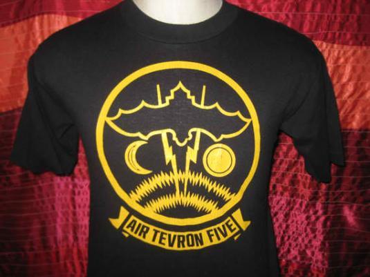 Vintage 1980's Airtevron 5 t-shirt, soft and thin, S M