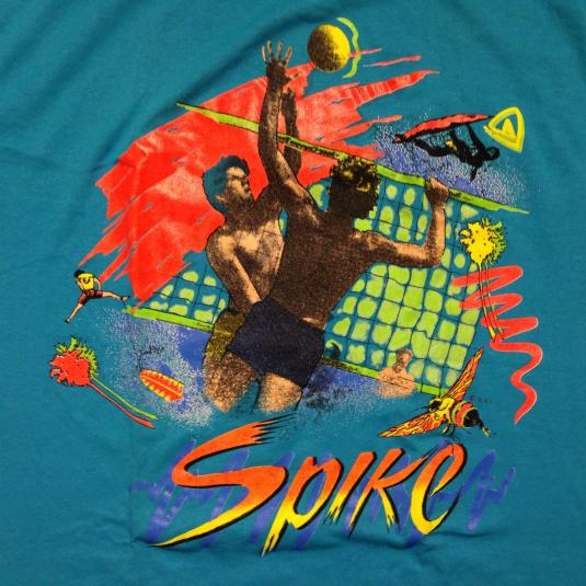 Vintage Totally 80's summer volleyball t-shirt