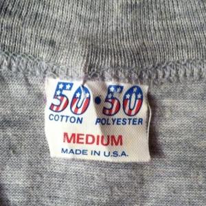 Vintage 1983 Elvis Costello concert tour t-shirt