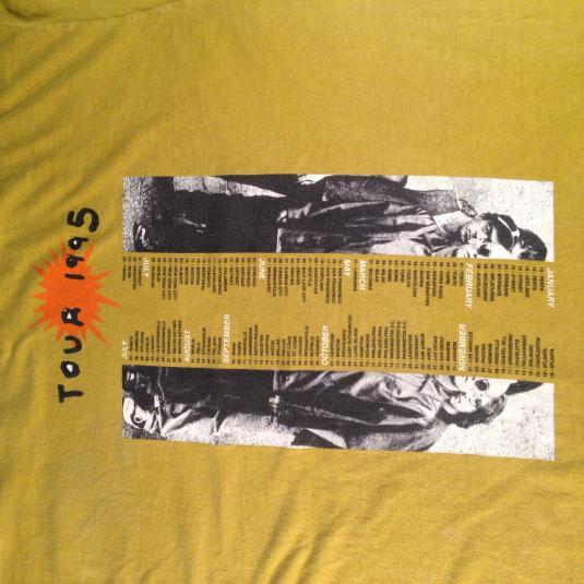 Vintage 1995 REM Monster concert tour t-shirt