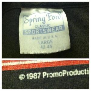 Vintage 1987 TRASHED Pink Floyd t-shirt