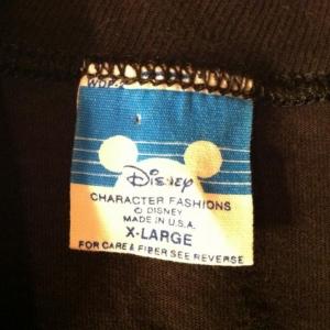 Vintage 1980's Mickey Mouse Walt Disney t-shirt